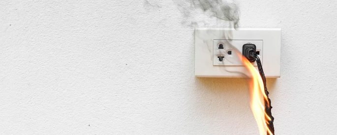 Fire Issues due to Electrical Appliances
